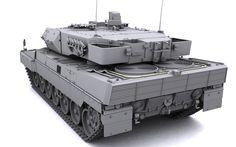 Tanque Leopard 2 A6