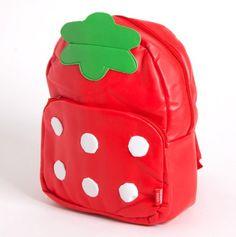 Strawberry Mini Backpack
