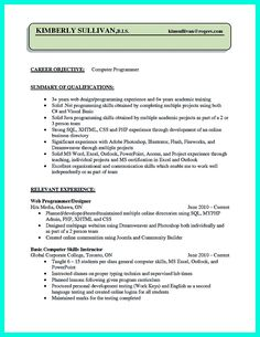 Well Written Resume Entrancing Nice Well Written Csr Resume To Get Applied Soon Check More At Http