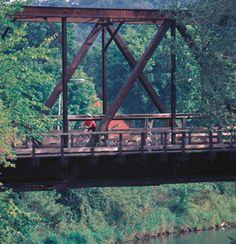 Bike trails in Minnesota:  The Cannon Valley Bike Trail