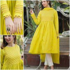 Abaya Simple, Simple Pakistani Dresses, Pakistani Fashion Casual, Pakistani Dress Design, Pakistani Bridal, Pakistani Outfits, Indian Outfits, Girls Dresses Sewing, Stylish Dresses For Girls
