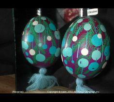 Ukrainian Easter Egg Pysanky 02-145  from the Lviv Region on AllThingsUkrainian.com