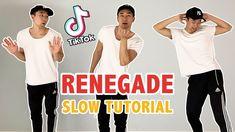 Renegade Tik Tok Tutorial (K Camp - Lottery) | Step By Step Dance Tutorial Step Dance, Easy Dance, Dance Tutorial, K Camp, Funny Video Memes, Funny Jokes, Hilarious, Dance Humor, Tic Tok