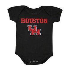 Houston Cougars Newborn/Infant Black Big Fan Creeper