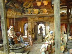 Foro de Belenismo - Miniaturas, detalles y complementos -> Lagar pisando uvas