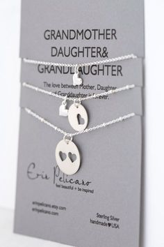 A personal favorite from my Etsy shop https://www.etsy.com/listing/190811728/grandmother-daughter-granddaughter