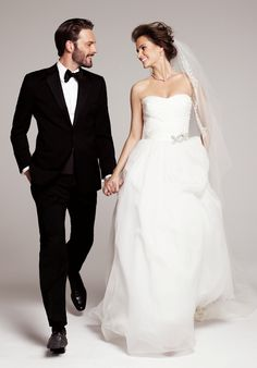 Roses by Reem Acra 'Holly' gown and 'Rich' veil, exclusive to Nordstrom #wedding