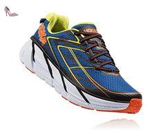 HOKA ONE ONE CLIFTON 3 BLEUE ET ORANGE Chaussures de running - Chaussures hoka one one (*Partner-Link)