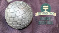 Fondant disco ball 70s cake. In this cake decorating tutorial I show you how to make a disco ball cake topper to decorate your cakes with. I use fondant to d...