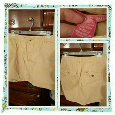 💙 NWOT Khaki Denim Skort Size 26W 💙 Brand New Never Worn Khaki Denim Skort From Woman Within Size Is 26W. This Has Shorts Attached Underneath And May Need To Be Ironed Since I Did Wash It. Excellent Condition 🚫 TRADES 🚫 PAYPAL 🚫 OFFERS ACCEPTED AT THIS TIME PRICE IS FINAL 💙 Woman Within  Skirts
