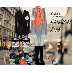"""FALL FASHION 2013 2"" by jadecardoza on Polyvore - not so much with the boots but everything else is great"