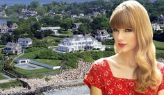 #TaylorSwift #RhodeIsland estate! Take a look at how Taylor lives! #Swifties #CelebrityRealEstate #CelebrityHomes #FamousHomes