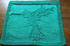 Hummingbird in Flight Dishcloth pattern by RaAnn Clegg
