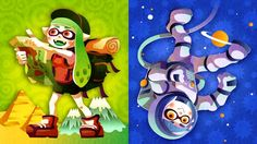 "A ""Travel the World"" vs. ""Go Into Space"" Splatfest event arrives for Splatoon players in Europe next weekend, Nintendo announced today."