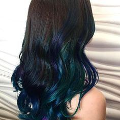 #mermaidhair #brightcolors #hair salon fredericton #salonfredericton #balayage #vibrant #sparks www.vibrantsalonandspa.com/services