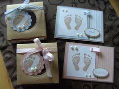 Baby, Geburt, Babyglück, Mirjams-Stempelecke, Geschenkverpackung individuell, Glückwunschkarte, Taufe, Stampin Up