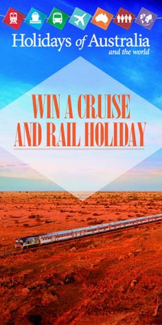 #Win a Cruise and Rail #Holiday for 2! #competition #vacation