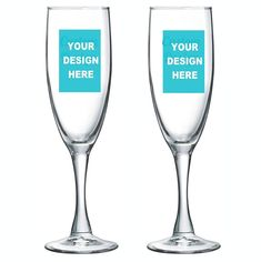 Create your own CUSTOM CHAMPAGNE FLUTES with your own design. Perfect for wedding, bridal shower, birthday party, baby shower or any special events. Personalized Champagne Flutes, Personalized Party Favors, Glass Votive, Wine Glass, Champagne Glasses, Design Your Own, Bridal Shower, Custom Design, Champagne Flutes