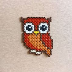 Owl hama beads by mandyzchr