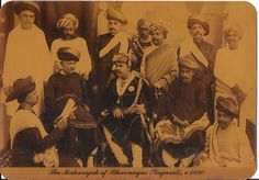Heritage of India: Maharajas of India vintage Post Cards