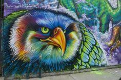 Graffiti-Bird-Eagle