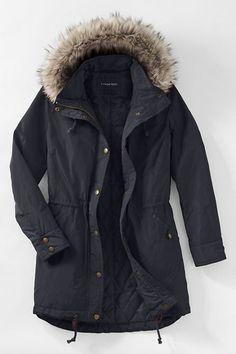 Women's City Anorak Coat from Lands' End