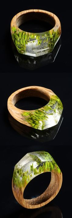 Wood and Resin. Handmade jewelry for special occasions! by GeGuJewelry - Healty fitness home cleaning