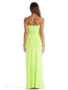 Plain Fitted Straps Maxi Dress