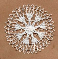 Tenerife, Lace Embroidery, Embroidery Designs, Handmade Crafts, Diy And Crafts, Bobbin Lace Patterns, Drawn Thread, Needle Lace, Lace Making