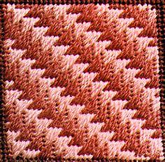 Photo of Diagonal Milanese Decorative Stitch