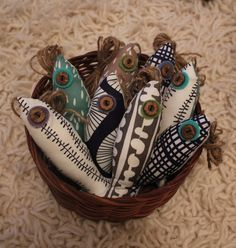Lotta Jansdotter Fabric Fish Light Pull