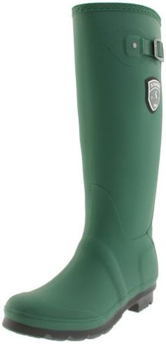 Kamik Women's Jennifer Rain Boot,Green/Black Sole,10 M US