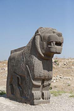 HITTITE - Ain Dara Neo - Hittite Temple -  located in north Syria