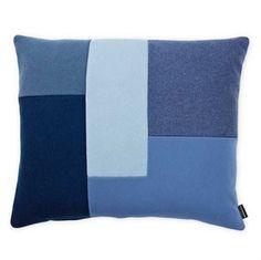 Brick cushion - blue - Normann Copenhagen