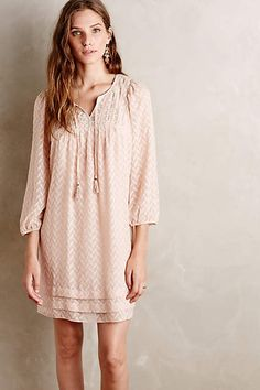 Anwen Peasant Dress - anthropologie.com