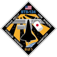List of Space Shuttle missions Nasa Store, Space Patch, Nasa Patch, Kennedy Space Center, Nasa Astronauts, International Space Station, Space Program, Stickers Online, Space Shuttle