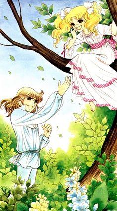 "Art from ""Candy Candy"" series by manga artist Yumiko Igarashi.  ""Candy , Candy"" 1st manga anime I saw..."