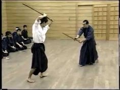 Old SAMURAI sword technique. There are many sword techniques in Japan for one purpose. This is one of them.