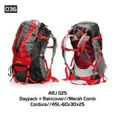 Tas Gunung Hiking Carrier Pria [ARJ 025] (Brand Trekking) Original Bandung