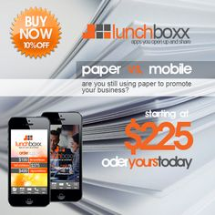 Who sells apps for as low as $225? We do! www.thelunchboxx.com