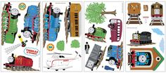 Amazon.com: Thomas And Friends Wall Decal Decoration (Each): Toys & Games