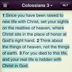 Colossians 3:1-3