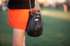 29 Accessory Snaps From The Fashion Show That Is Coachella #refinery29  http://www.refinery29.com/music-festival-accessories-pictures#slide17  This Meli Melo bag was a spot-on fest frill. How much do you wanna bet she gets a dope discount?  Photographed by Mark Iantosca