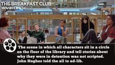 Much love for The Breakfast Club