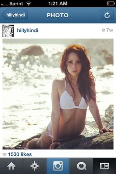 She is my inspiration to get healthy. <3 Hilly Hindi