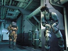 I like the strategy needed to win the Metal Gear games. It's not about violence, but stealth. Metal Gear Solid Ps1, Metal Gear Solid Series, New Video Games, Retro Video Games, Retro Games, Metal Gear Games, Forest Games, Playstation Games, Old Games