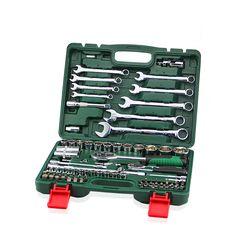 82 шт. ключ комбинация ratchet llave динамометрический ключ 1/2 комплект авто ремонт ручные инструменты для автомобиля kit набор ключей гаечные ключи HD3695