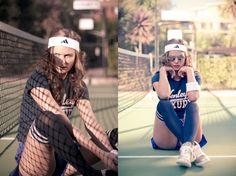 Tennis sports fashion shoot - Bill Chen Portfolio - The Loop