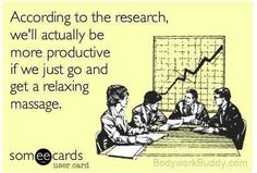 Indeed - studies show workplace stress is on the rise.   visit http://gerrycmt.massagetherapy.com/