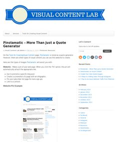 Using Pinstamatic to create visual content. Pinterest Marketing, Content, Create, Quotes, Quotations, Quote, Shut Up Quotes